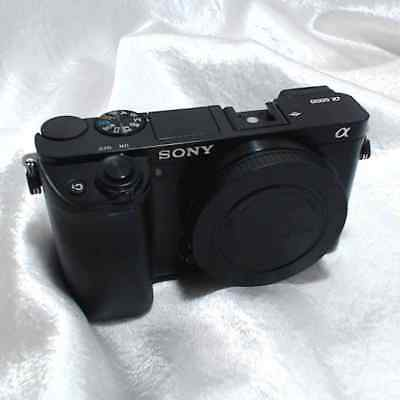 Sony Alpha a6000 24.3MP Digital Camera  Black (Body Only) Good Working Condition