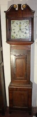 30 x Hour Oak Grandfather Clock by John Callcott from Sotton 1900's