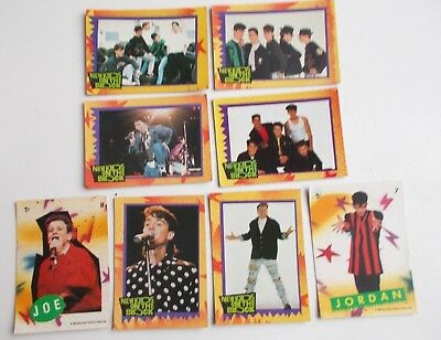 New Kids On The Block  Lot Of 8  Topps 1989  Trading Cards & Stickers