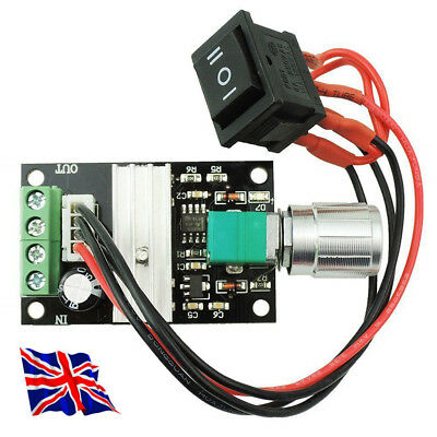 3A REVERSIBLE MOTOR Speed Controller 6 -28V PWM Available in UK -1st class Post