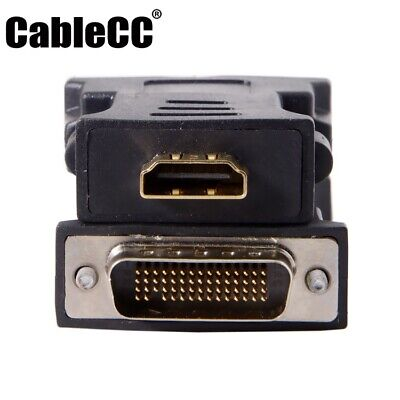Cablecc LFH DMS-59pin Male to HDMI 1.4 19Pin Female Extension Adapter for PC
