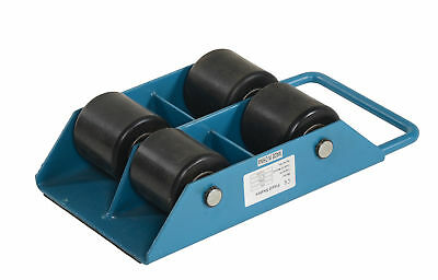 "Vestil FMS-3 Fixed Machinery Skate w/ 4 Nylon Roller, 13""L,8-5/8""W,4""H, 3 Ton"