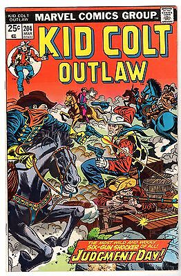 Kid Colt Outlaw #204, Fine - Very Fine Condition