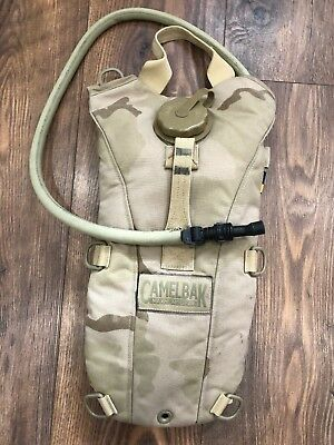 British Army Military Surplus Issued 3 Litre DDPM Camelbak Hydration System Worn