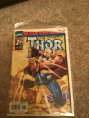 Heroes Return The  Mighty Thor.   1         Jul 1998 MArvel Comics