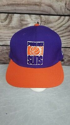 NBA PHOENIX SUNS Hardwood Classics Mitchell and Ness Fitted Cap Hat ... 18d0c396fe49