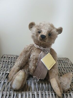 Forget Me Not Artist Mohair Bear by Joy Wiltshire Sisiters OOAK Fully Jointed