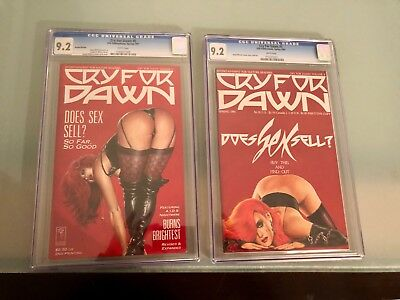 Cry for Dawn Issue  5 Comic CGC 9.2 NM FIRST AND 2ND PRINT