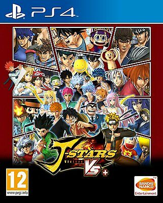 J-Stars Victory VS+ (PS4) BRAND NEW SEALED PLAYSTATION 4