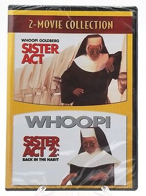Sister Act & Sister Act 2 Back In The Habbit: DVD