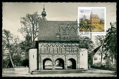 BRD MK 2014 KLOSTER LORSCH ABBEY MAXIMUMKARTE UNIKAT !! MAXIMUM CARD MC CM bp09