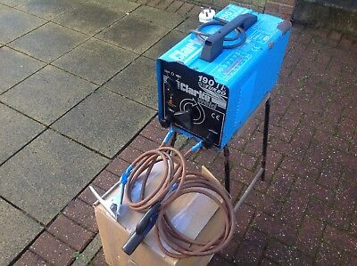 CLARKE 190 TE TURBO ARC WELDER, (with Fan). USED AND FULLY WORKING.