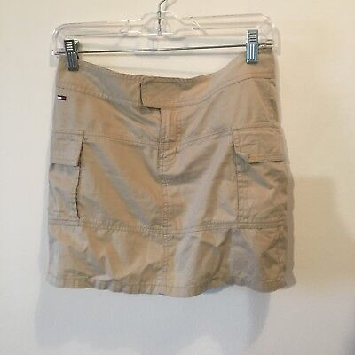 a326c9cb5bf CORDUROY SKIRT TOMMY Hilfiger Jeans Size 3 Tan Frayed TH -  26.00 ...