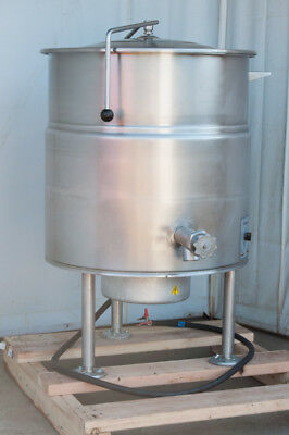 steam kettle 40 gallon electric Cleveland stationary single phase KEL-40