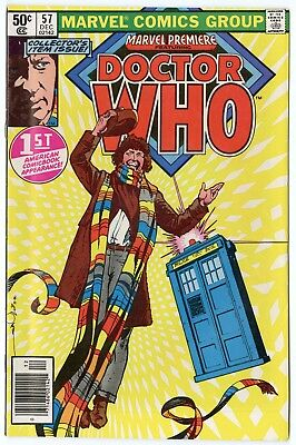 Marvel Premiere #57 NM- 9.2 white pages  Doctor Who  1980  No Reserve
