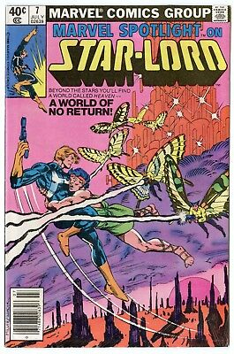 Marvel Spotlight #7 VF/NM 9.0 ow/white pages  Star-Lord  1980  No Reserve