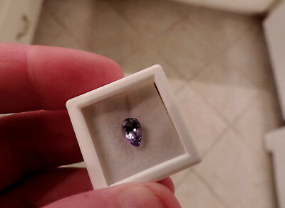 1.05ct PEAR ShapedTanzanite. BEAUTIFUL stone cut by me.GORGEOUS COLORING