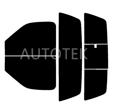 PreCut All Sides Window Film Any Tint Shade % for Ford F250 Standard Cab 1997-98
