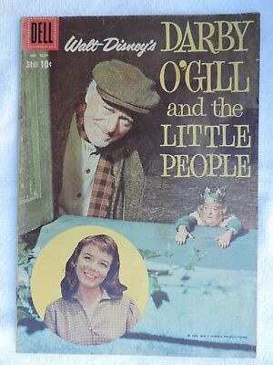 Dell Comic: Disney's Darby O'gill And The Little People #1024 (Vg+)
