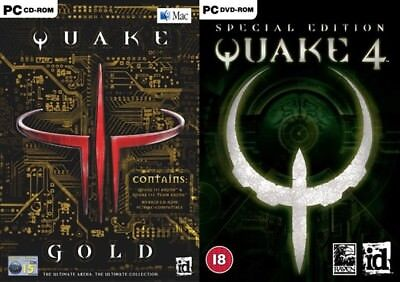 QUAKE III GOLD: Arena & Team Arena PC & MAC Complete - $20 00 | PicClick