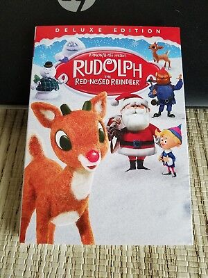 Rudolph The Red-Nosed Reindeer Dvd Deluxe Edition 2018 New See Description Pleas