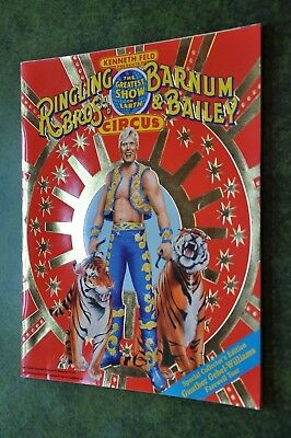 1989 Ringling Brothers and Barnum & Bailey Circus Program- Gunther Farewell-2340
