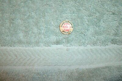 "Huey P. Long Pin Back Button, ""Share Our Wealth Society"" EVERY MAN A KING"