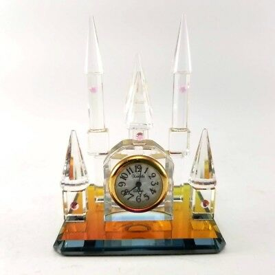 Crystal Castle With Clock