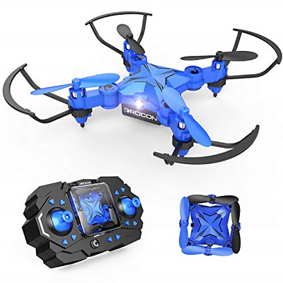 DROCON Mini RC Drone for Kids, Portable Pocket Quadcopter with Altitude Hold &