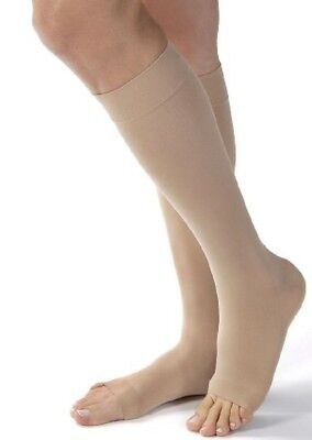 Varisan Knee-High Stocking - SHORT (36-41cm), Open-Toe, 23-32mmHg