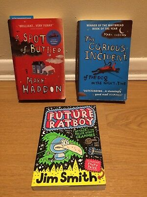 Future Ratboy, The Curious Incident and A Spot of Bother Books
