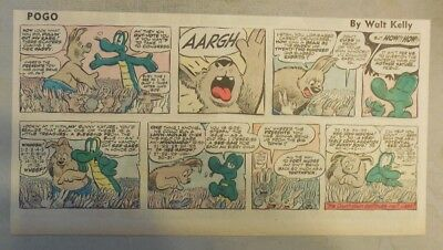 Pogo Sunday by Walt Kelly from 6/15/1958 Third Page Size!