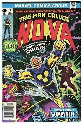 Nova #1 VF 8.0 ow/white pages  Marvel  1976  No Reserve