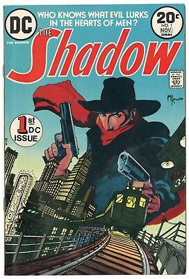 Shadow #1 VF/NM 9.0 ow/white pages  DC  1973  No Reserve