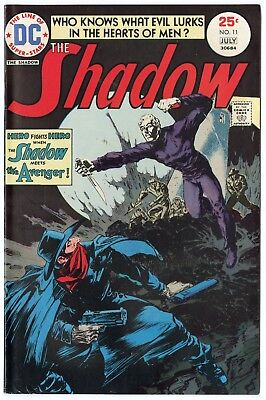 Shadow #11 VF/NM 9.0 ow/white pages  DC  1975  No Reserve