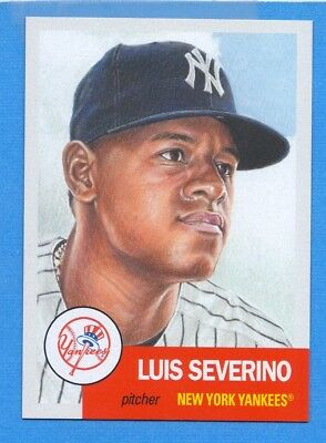2018 Topps Living Set #115 Luis Severino Yankees