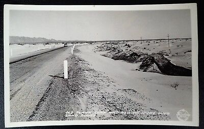 Old Plank Road And New Highway Imperial County California Frasch Rppc