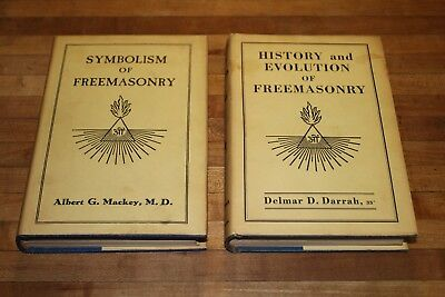 History and Evolution of Freemasonry Delmar Darrah & Symbolism of by Mackey DJ's