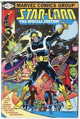Star-Lord Special Edition #1 VF/NM 9.0 white pages  Marvel  1982  No Reserve