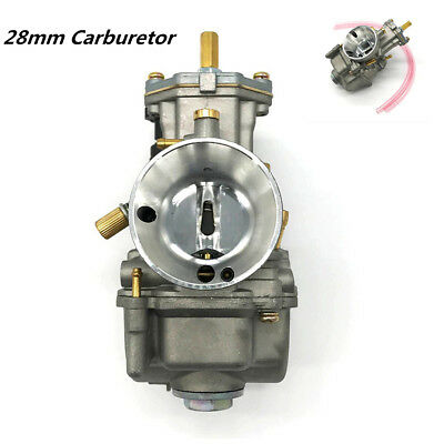 28mm PWK Power Carburetor Kit For ATV Motorcycle 80cc 100cc 125cc 250cc 350cc