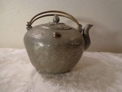 Antique Japanese Tea Pot / Utilitarian Used Every Day