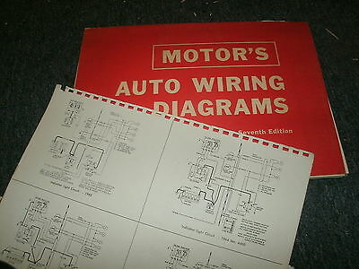 1963 - 1967 chrysler newport new yorker imperial wiring diagrams manual  sheets