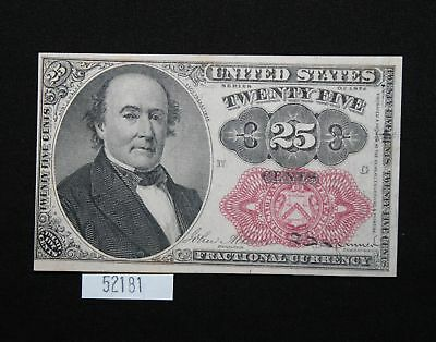 West Point Coins ~ 25 Cent 1874 Fractional Note 5th Issue #1309 UNC