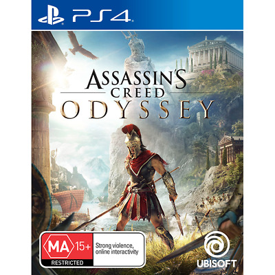 Assassins Creed Odyssey PS4 Playstation 4 Assassin's New Sealed