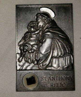 Vintage St. Anthony Relic