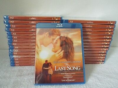 The Last Song w/Miley Cyrus-30 Sets--New--Blu-Ray--Factory Sealed