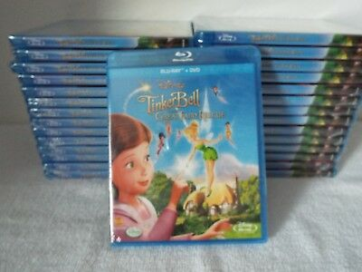Tinkerbell-The Great Fairy Rescue-Blu-ray +DVD-New Factory Sealed- 30 Sets