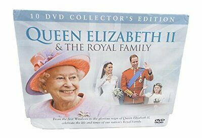 10 DVD Collection Edition Queen Elizabeth II & The Royal Family - DVD  MOVG The