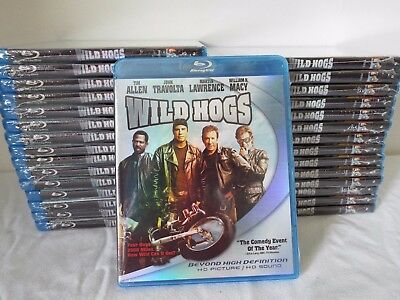 Wild Hogs--Blu-Ray--30 Sets--Factory Sealed-NEW