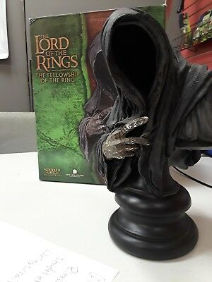 Sideshow Weta Ringwraith Polystone Bust Lotr Lord Of The Rings